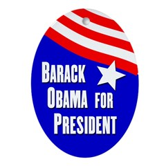Barack Obama re-election ornament