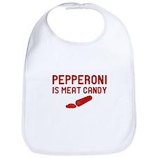 Pepperoni Candy Bib