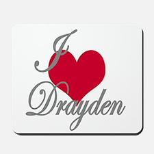 I love (heart) Drayen Mousepad