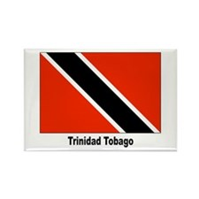 Trinidad Tobago Flag Rectangle Magnet