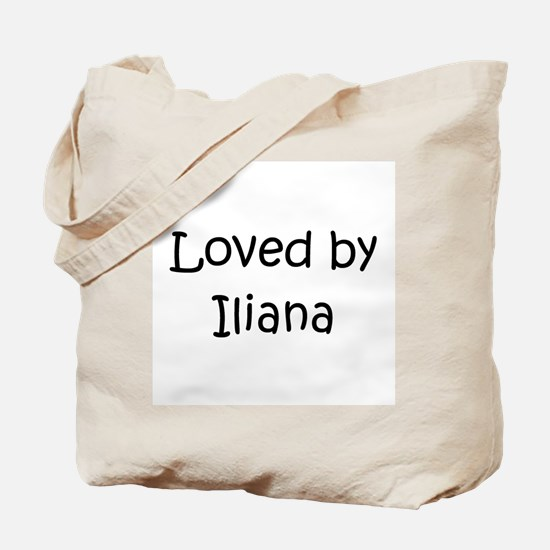 Cute Iliana Tote Bag
