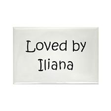 Cute Iliana Rectangle Magnet