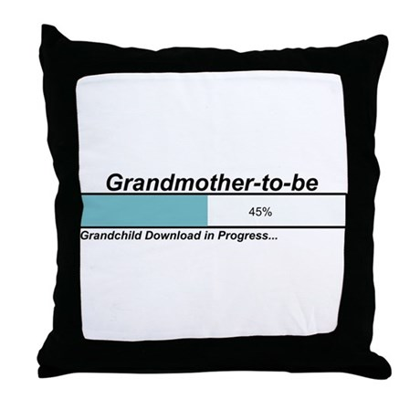 Download Grandmother to Be Throw Pillow