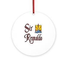 Sir Reynaldo Ornament (Round)