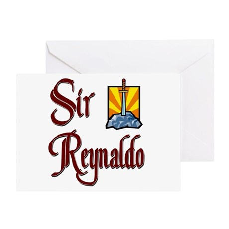 Sir Reynaldo Greeting Card