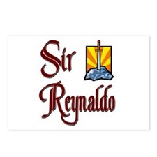 Sir Reynaldo Postcards (Package of 8)