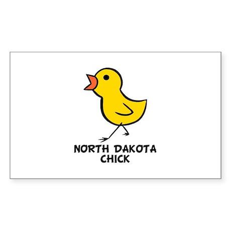 Chick Rectangle Sticker