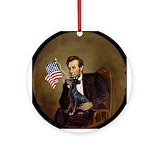 Lincoln & His Manchester Keepsake (Round)