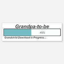 Download Grandpa to Be Bumper Bumper Bumper Sticker