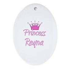 Princess Reyna Oval Ornament