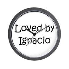 Cute Ignacio Wall Clock