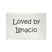 Cute Ignacio Rectangle Magnet