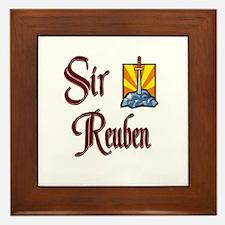 Sir Reuben Framed Tile