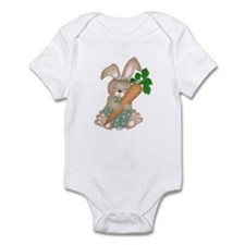 Cute Rabbit With Carrot Infant Creeper