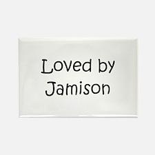 Unique Jamison Rectangle Magnet