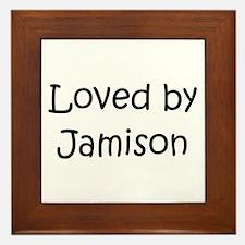 Unique Jamison Framed Tile