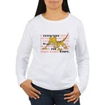 Extinction is for Wimps Women's Long Sleeve T-Shir