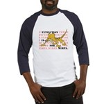 Extinction is for Wimps Baseball Jersey