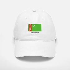 Turkmenistan Flag Baseball Baseball Cap