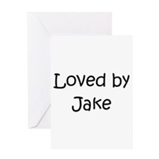 Unique Jake Greeting Card