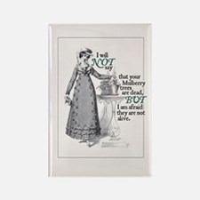 Jane Austen Mulberry Rectangle Magnet