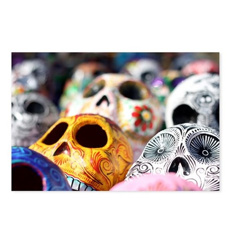 Day of the Dead (Muerte) Postcards (Package of 8)