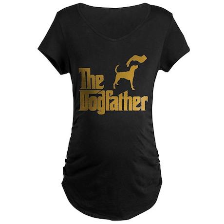 American Foxhound Maternity Dark T-Shirt
