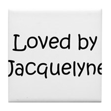 Cute Jacquelyn Tile Coaster
