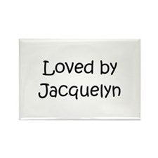 Cool Jacquelyn Rectangle Magnet