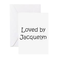Unique Jacquelyn Greeting Card