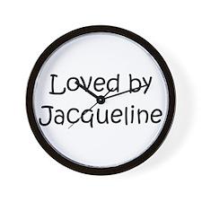 Cute Jacqueline Wall Clock