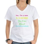 Twilight Moms 2 Women's V-Neck T-Shirt