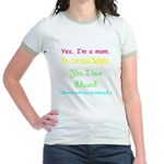 Twilight Moms 2 Jr. Ringer T-Shirt