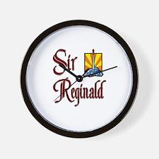 Sir Reginald Wall Clock