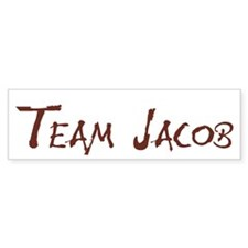 Team Jacob Bumper Bumper Sticker
