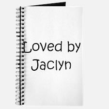 Cute Jaclyn Journal