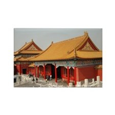 Forbidden City 4 Rectangle Magnet