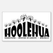 Hoolehua Kalo Rectangle Decal