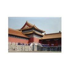 Forbidden City 3 Rectangle Magnet