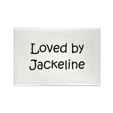Cute Jackeline Rectangle Magnet