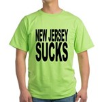 New Jersey Sucks Green T-Shirt