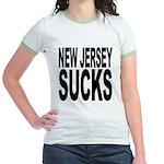 New Jersey Sucks Jr. Ringer T-Shirt