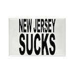 New Jersey Sucks Rectangle Magnet (10 pack)
