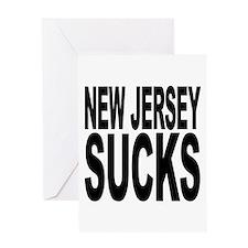 New Jersey Sucks Greeting Card