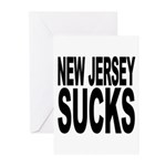 New Jersey Sucks Greeting Cards (Pk of 20)