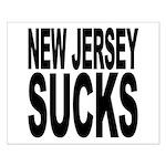 New Jersey Sucks Small Poster
