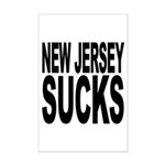 New Jersey Sucks Mini Poster Print