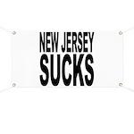 New Jersey Sucks Banner
