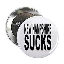 """New Hampshire Sucks 2.25"""" Button"""