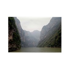 Lesser Three Gorges Rectangle Magnet